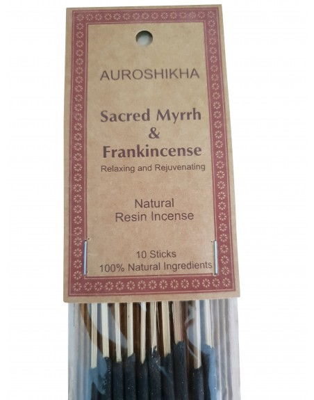 Bețe parfumate, rășină Smirnă - 100% naturale
